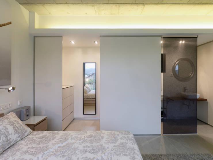 غرفة نوم تنفيذ Nan Arquitectos