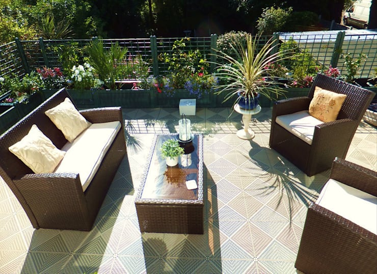 Patios & Decks by Ecotile Flooring