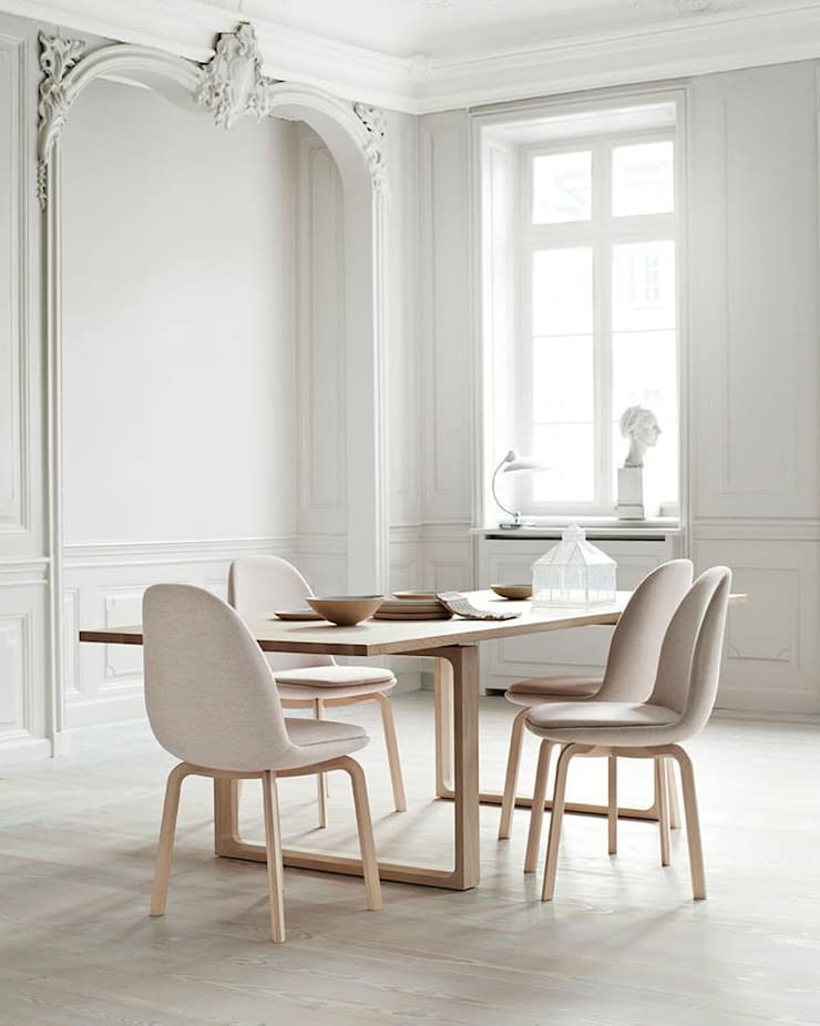 Krzesło Sammen™: styl , w kategorii Jadalnia zaprojektowany przez Mootic Design Store