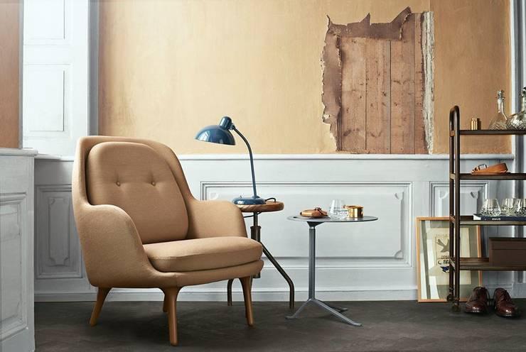 Fotel Fri™: styl , w kategorii Salon zaprojektowany przez Mootic Design Store ,