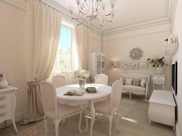 Спа зона в частном доме.: Столовые комнаты в . Автор – Студия дизайна Elena-art,