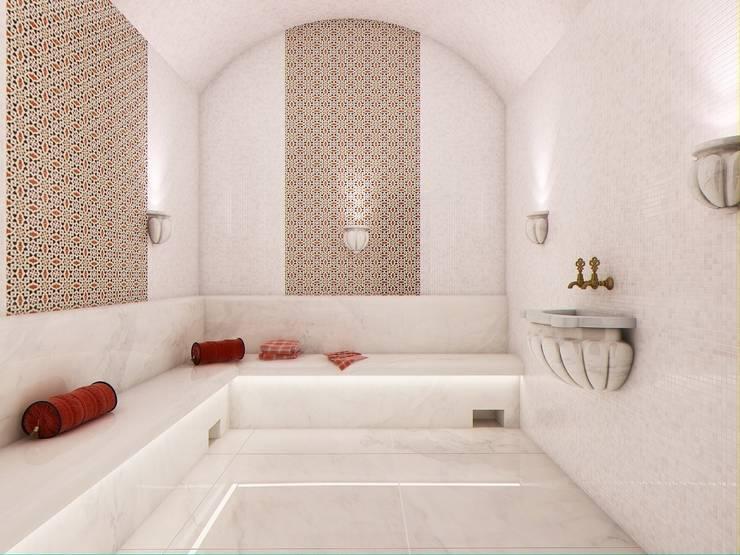 Спа зона в частном доме.: Спа в . Автор – Студия дизайна Elena-art,