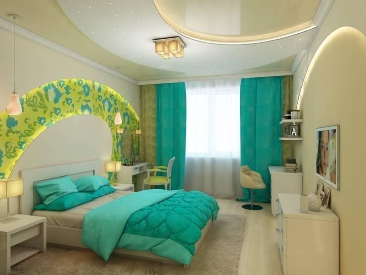 Квартира для молодой пары.: Спальни в . Автор – Студия дизайна Elena-art