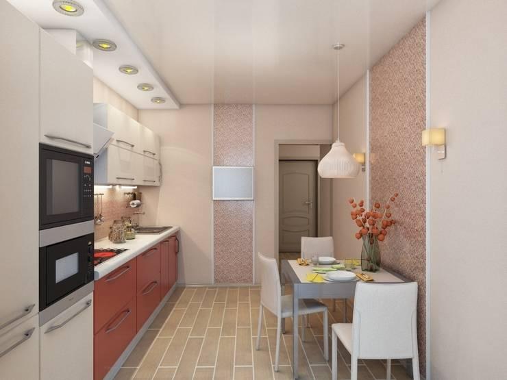 Квартира для молодой пары.: Кухни в . Автор – Студия дизайна Elena-art