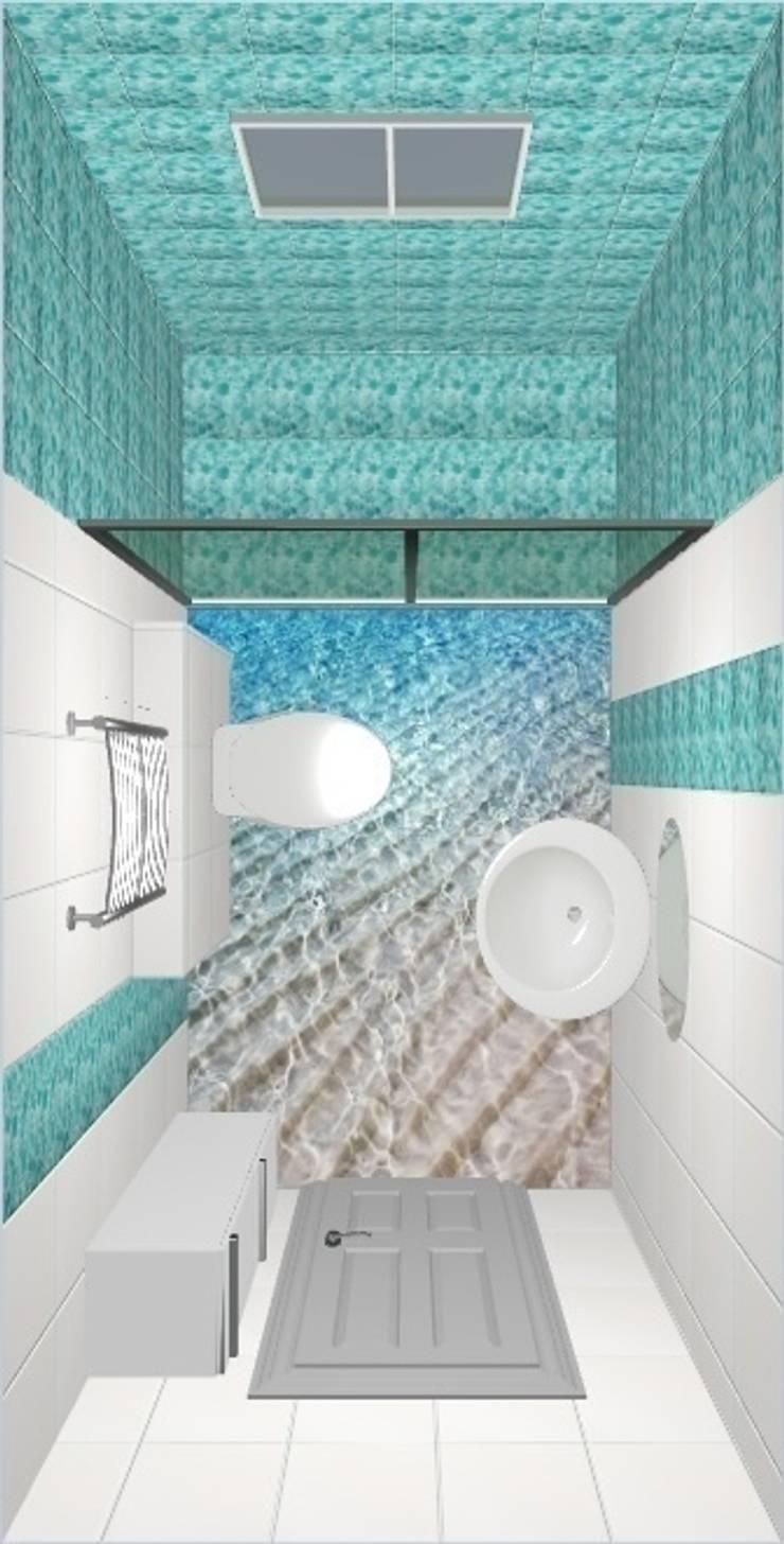 Загородный дом.: Ванные комнаты в . Автор – Студия дизайна Elena-art