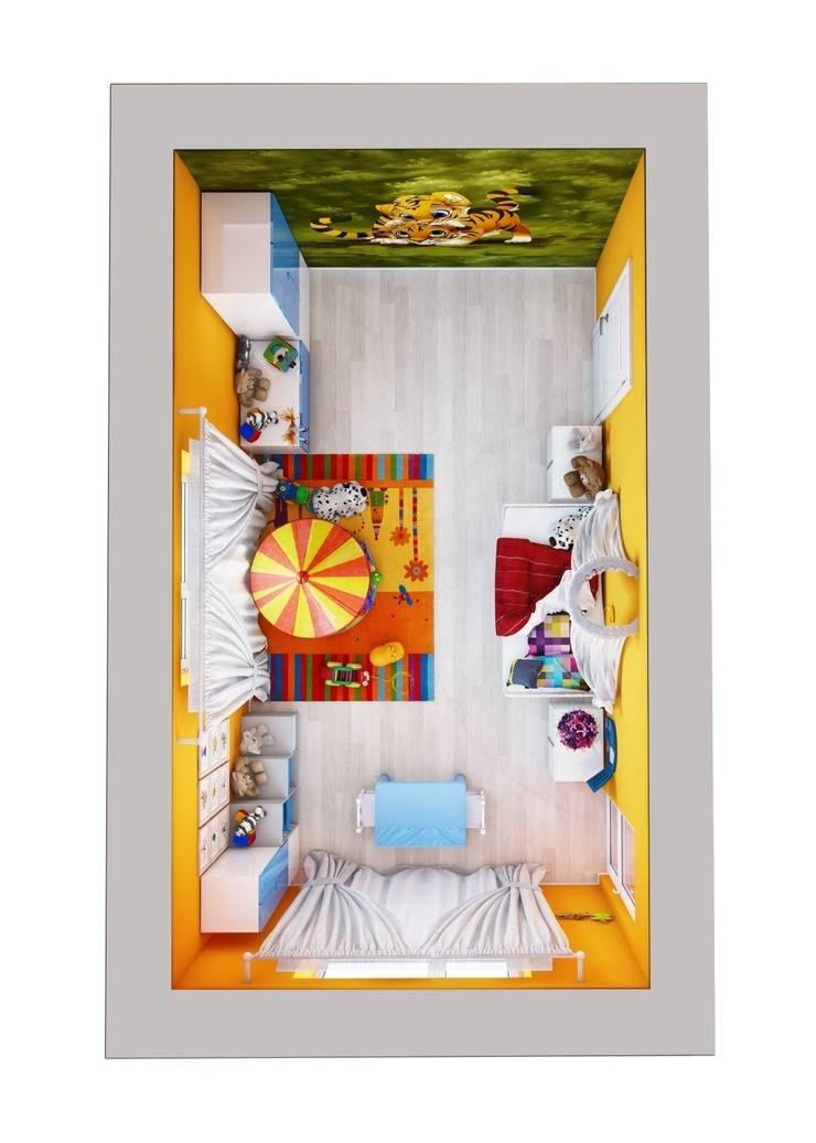 Загородный дом.: Детские комнаты в . Автор – Студия дизайна Elena-art