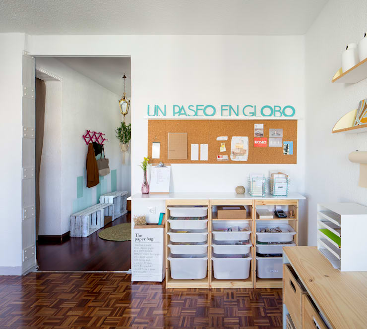 Study/office by GLOBO ESTUDIO
