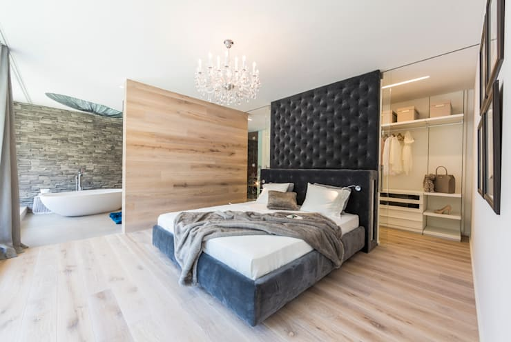 modern Bedroom by ARKITURA GmbH
