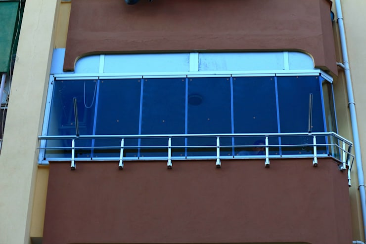 Akdeniz Dekorasyon – Cam Balkonlarımız:  tarz Evler
