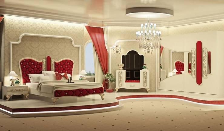 CESE HOME CONCEPT – Yatak Odası:  tarz Yatak Odası, Modern