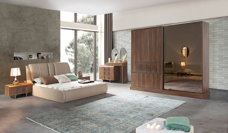 CESE HOME CONCEPT – Yatak Odası:  tarz Yatak Odası