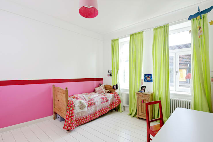 Revitalisierung Haus B. Düsseldorf:  Schlafzimmer von kg5 architekten
