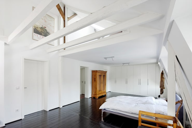 minimalistische Slaapkamer door kg5 architekten