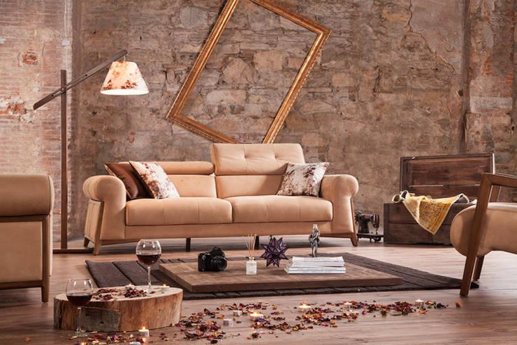 ห้องนั่งเล่น by CESE HOME CONCEPT
