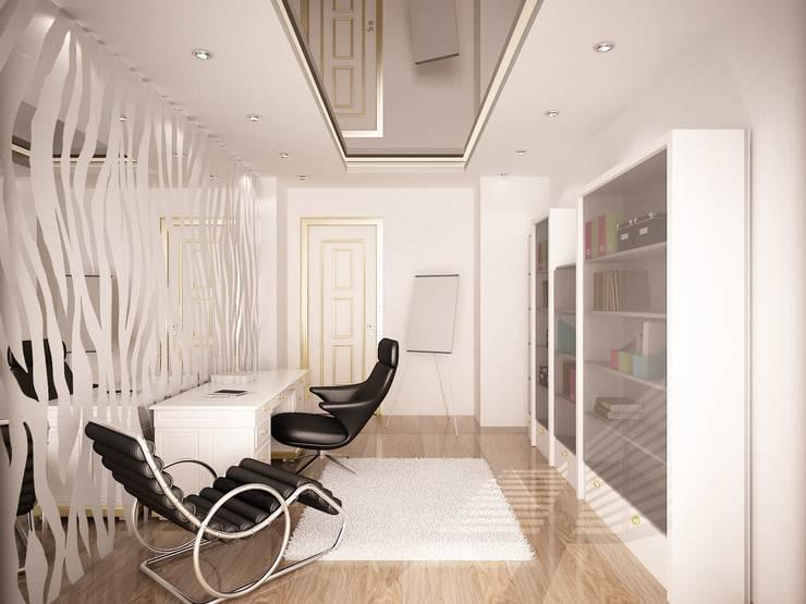 Sinar İç mimarlık – Çalışma Odası:  tarz Çalışma Odası