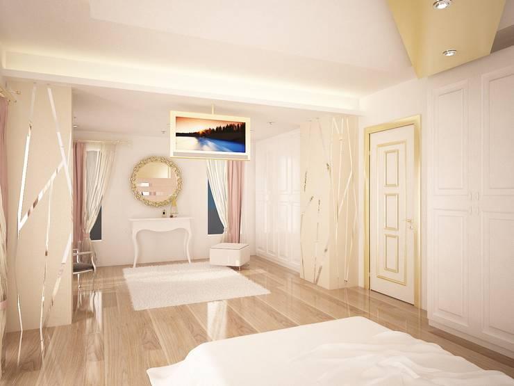 Sinar İç mimarlık – Sinem ARISOY KEÇECİ:  tarz Yatak Odası