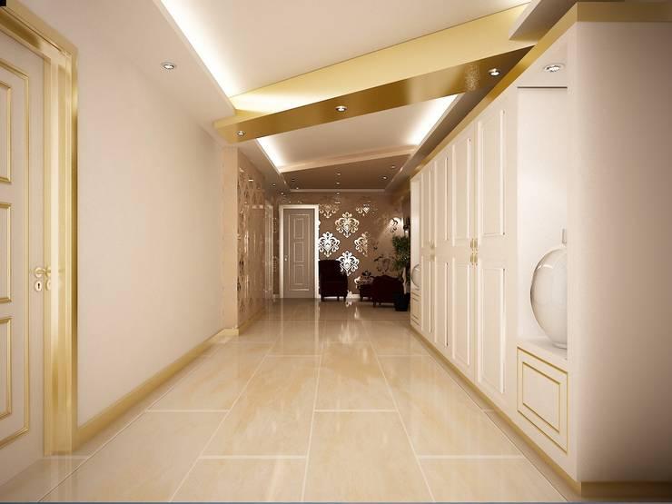 Sinar İç mimarlık – Giriş Holü:  tarz Evler