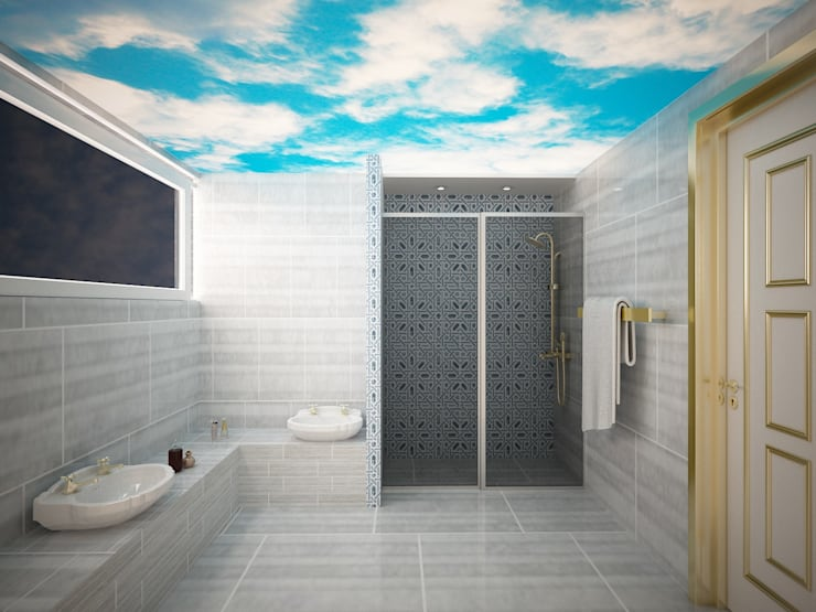 Bathroom by Sinar İç mimarlık