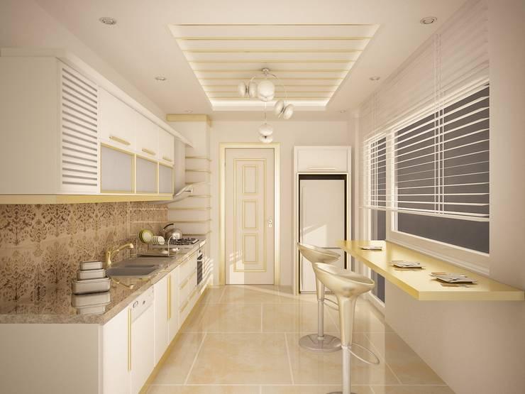 Sinar İç mimarlık – Sinem ARISOY KEÇECİ:  tarz Mutfak