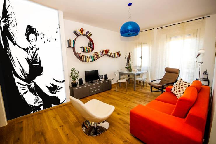LB Design e Allestimenti: asyatik tarz tarz Oturma Odası