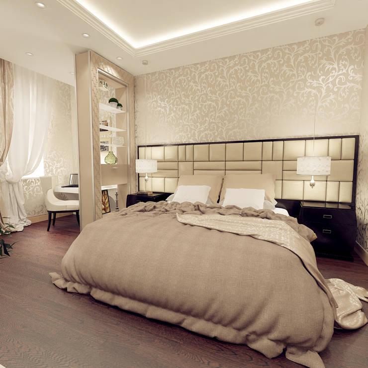 квартира на Гарибальди: Спальни в . Автор – ООО 'Студио-ТА'