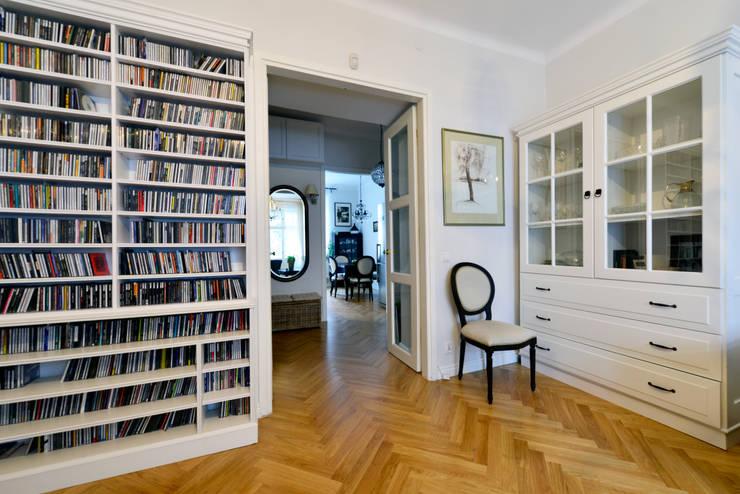 90m, Ochota, Wwa: styl , w kategorii Pokój multimedialny zaprojektowany przez dziurdziaprojekt