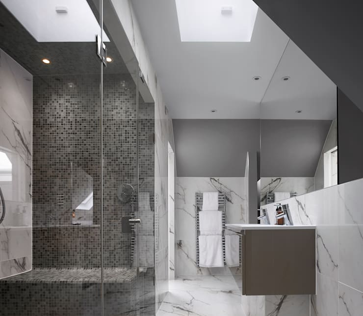 Creighton Avenue:  Bathroom by Andrew Mulroy Architects