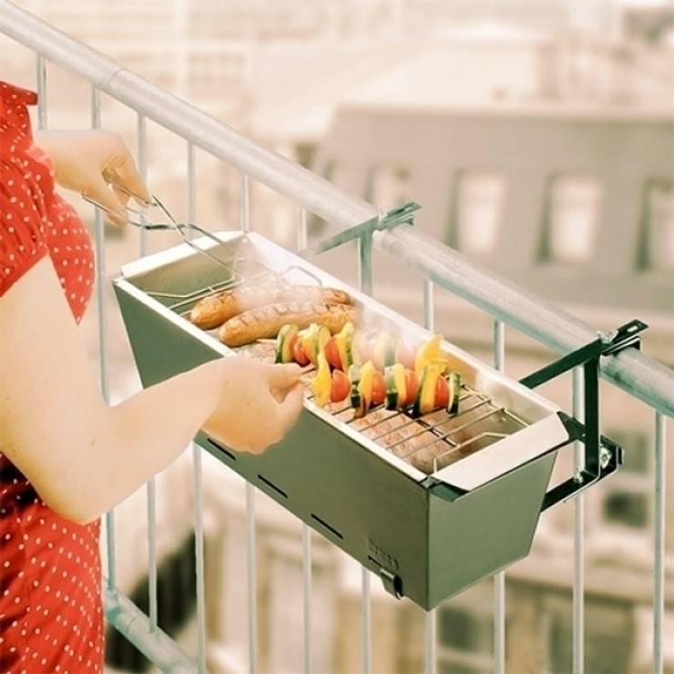 BARBACOA DE BALCÓN: Balcones y terrazas de estilo  de Icool