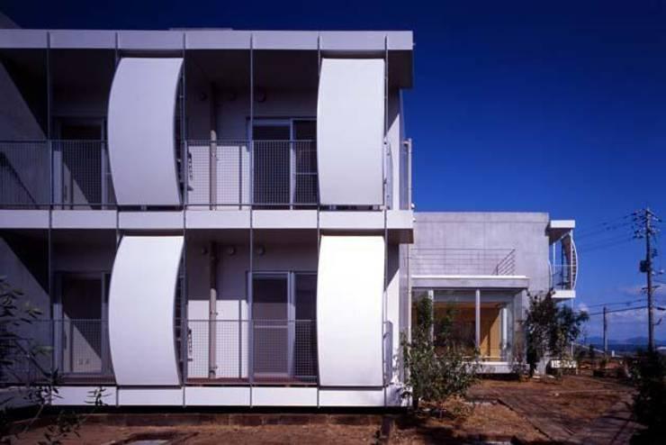 外観: 株式会社ヨシダデザインワークショップが手掛けた家です。,