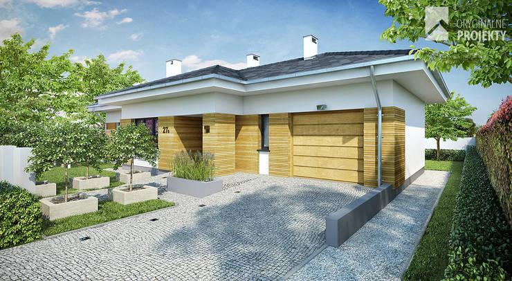 Projekt domu Ignotus: styl , w kategorii Domy zaprojektowany przez Oryginalneprojekty s.c.