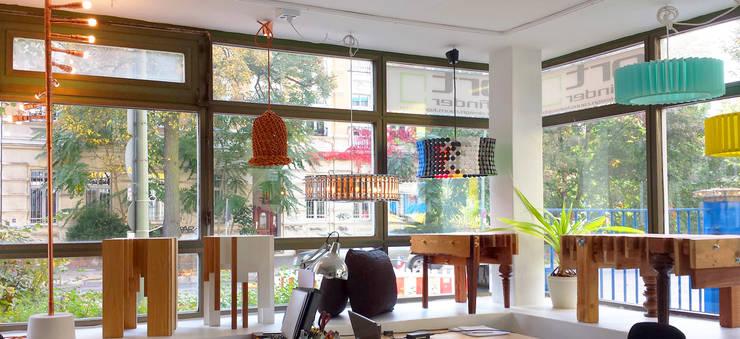 Oficinas de estilo  por ORTerfinder, Ecléctico