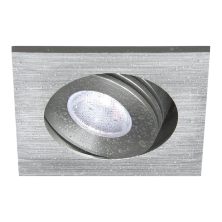 Vierkante LED badkamer inbouwspot IP65 3watt :  Badkamer door R&M Verlichting