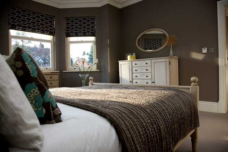 BEAUTIFUL BEDROOMS:  Bedroom by Debra Carroll Interiors