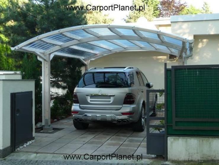 Wiaty Garazowe Samochodowe - Carport: styl , w kategorii  zaprojektowany przez P.H.U. Carport Planet Konstrukcje Drewniane