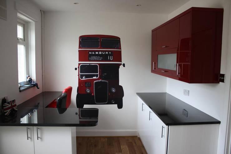Projekty,  Kuchnia zaprojektowane przez The Binary Box