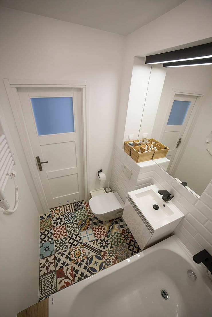 FRN2: styl , w kategorii Łazienka zaprojektowany przez Och_Ach_Concept,Skandynawski