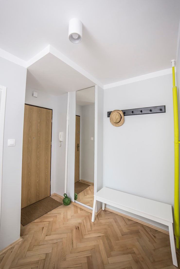 FRN2: styl , w kategorii Korytarz, przedpokój zaprojektowany przez Och_Ach_Concept,Skandynawski