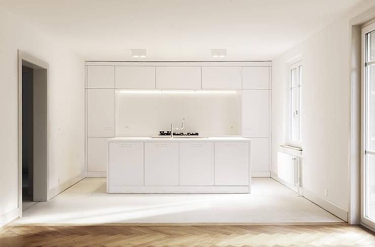 Projekty,  Kuchnia zaprojektowane przez Wagner Vanzella Architekten