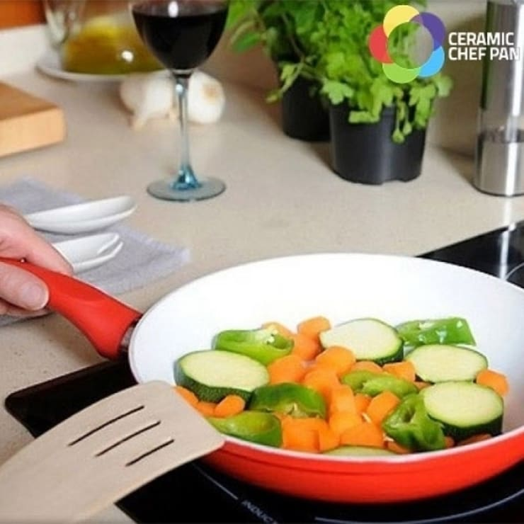 Sartenes Ceramic Chef Pan: Cocina de estilo  de Icool