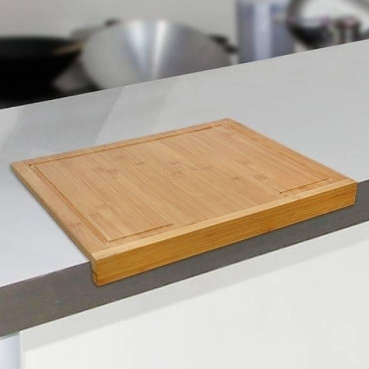 Tabla de Corte Encimera Bambú: Cocina de estilo  de Icool