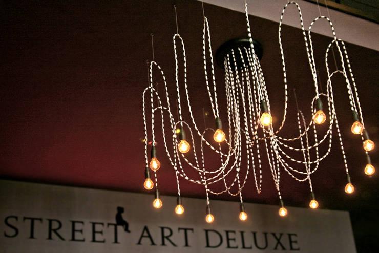 Lampa CableSIXTEEN w street art deluxe: styl , w kategorii Gastronomia zaprojektowany przez CablePower