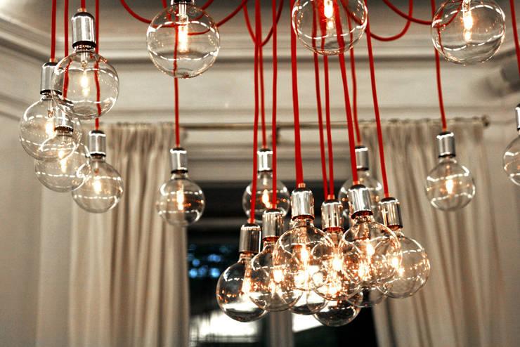 Lampa CableTWENTYFOUR w endorfina foksal: styl , w kategorii Jadalnia zaprojektowany przez CablePower