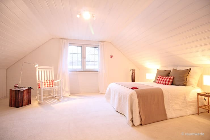 Kamar Tidur oleh raumwerte Home Staging, Country