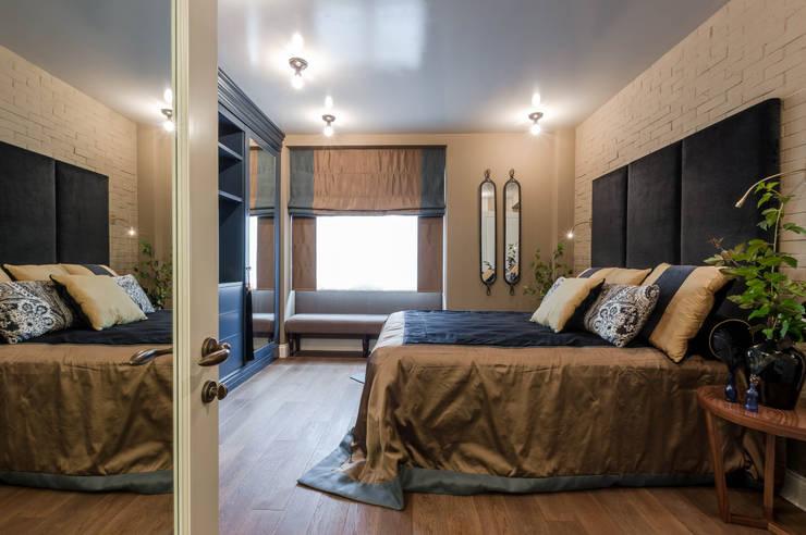 Квартира на Можайском шоссе: Спальни в . Автор – Irina Tatarnikova