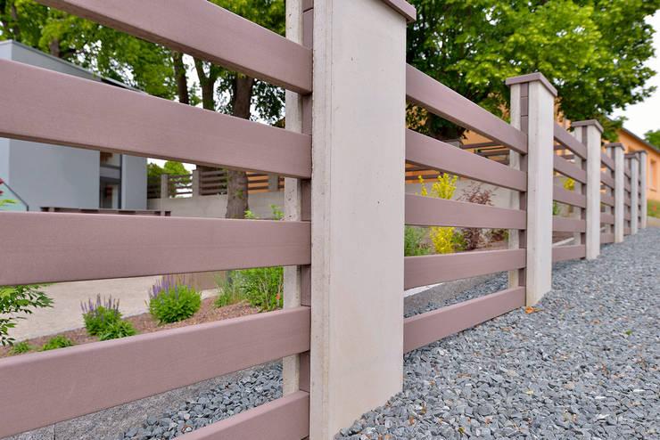 Jardín de estilo  por megawood - Das Terrassensystem