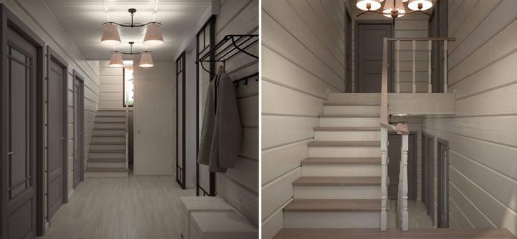 Загородный дом: Коридор и прихожая в . Автор – Center of interior design