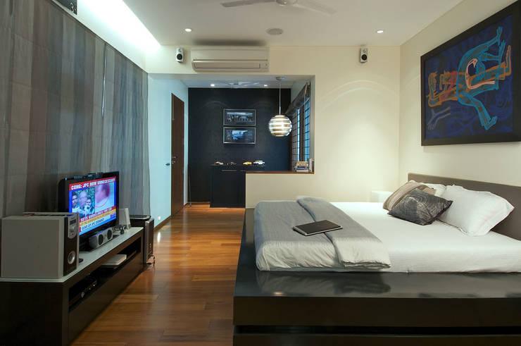 Dormitorios de estilo colonial de Ysk Tadilat