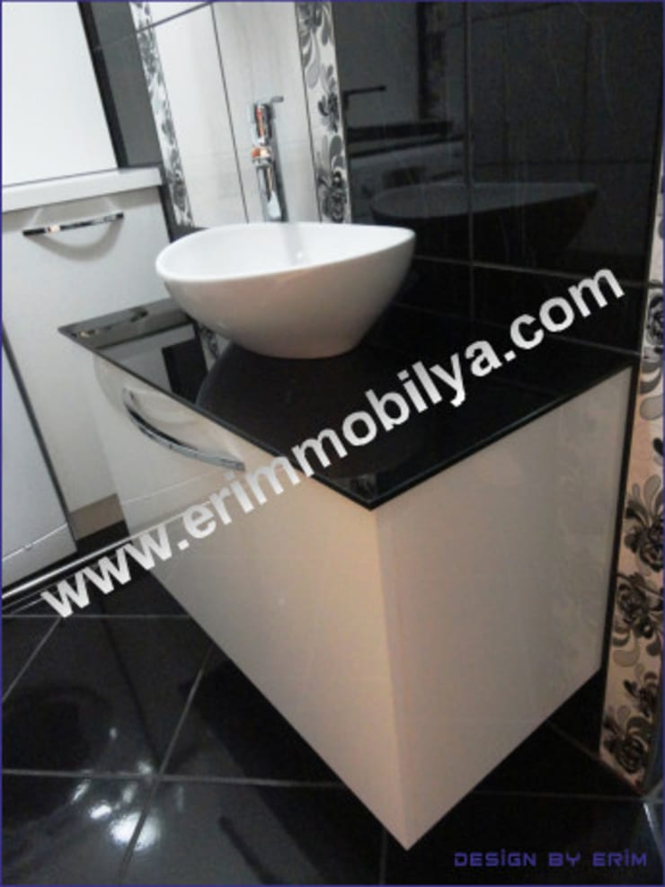 Erim Mobilya  – Banyo Dolabı:  tarz Banyo, Modern