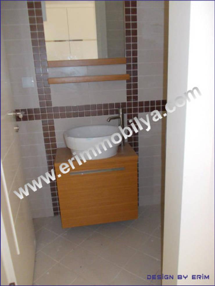 Erim Mobilya  – Banyo Dolabı:  tarz Banyo, Modern Bambu Yeşil