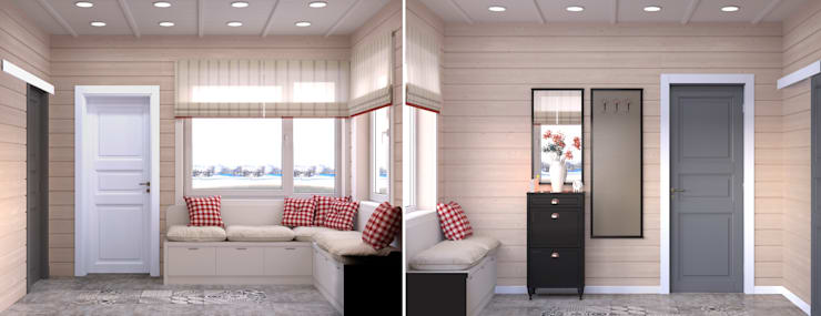 Загородный дом: Tерраса в . Автор – Center of interior design
